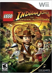 Wii INDIANA JONES THE ORIGINAL ADVENTURES【北米版】インディ・ジョーンズ ザ・オリジナル アドベンチャーズ