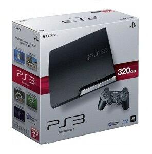 【新品】PS3本体  320GBチャコール・ブラック CECH3000B