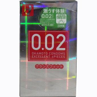 オカモト ゼロゼロツー エクセレント 0.02EX グランズフィット 6個入 ( コンドーム・避妊具 ) ×144点セット ( 4547691726858 ):姫路流通センター