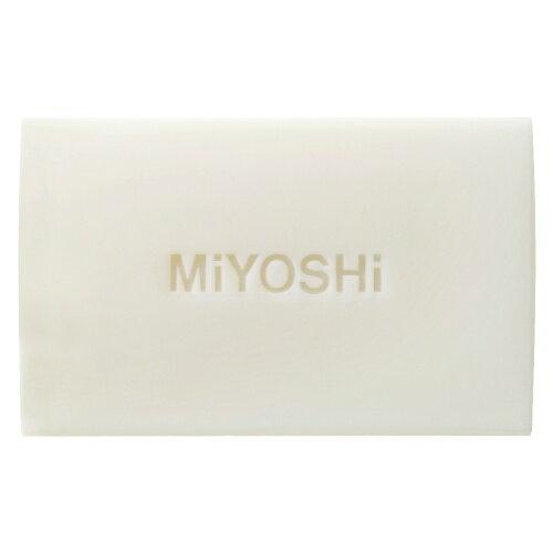 【まとめ買い×5】ミヨシ石鹸無添加白いせっけん108g×5点セット肌あいのやさしい純せっけん(固形石鹸)(4904551001522)