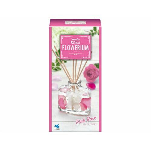 【無くなり次第終了】小林製薬 SAWADAY サワデー 香るSTICK フラワーリウム ピンクローズ 70ml(4987072057032)