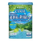 バスクリン 薬用 入浴剤 クール 避暑地の新緑の香り 600g
