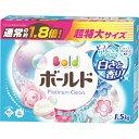 【大容量】 P&G ボールド 洗濯洗剤 粉末 ピュアクリーンサボンの香り 1.5kg  柔軟剤入り衣料用洗剤 Bold 1500g ( 4902430515863 ) ※パッケージ変更の場合あり