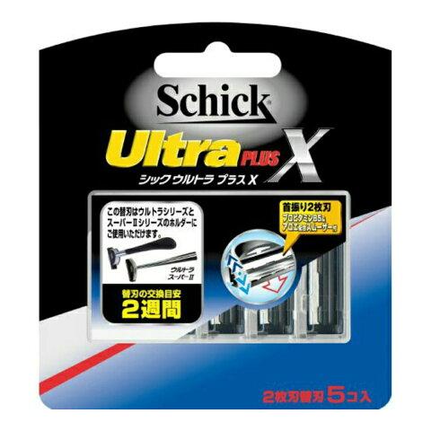 【送料込・まとめ買い×288】シック Schick ウルトラプラスX 替刃 5コ入×288点セット(4891228303860)