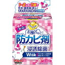 【 令和・新元号セール10/16 】アース製薬 らくハピ お風呂の防カビ剤 ローズの香り 1個 (4901080653819)