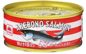 【送料無料・まとめ買い×10】マルハニチロ あけぼの 鮭水煮 缶詰 ×10点セット(4902165300062)