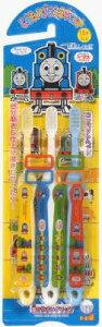 【60個で送料無料】バンダイ こどもハブラシ 3本セット きかんしゃトーマス 1歳半-幼児向き ( 歯ブラシ 機関車トーマス ) ×60点セット ( 4543112055026 )