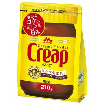 【送料無料】森永乳業 クリープ 袋 210g×24個セット ( 4902720117807 )