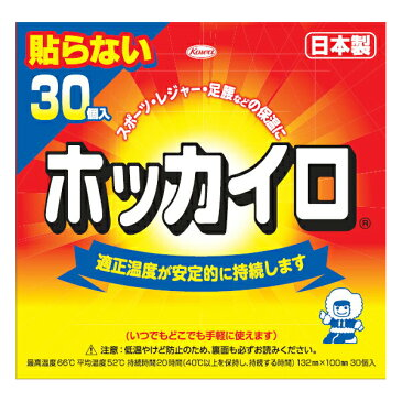 【送料無料・まとめ買い×3】【興和】ホッカイロ 貼らないレギュラー 30個入り ( 使い捨てカイロ ) ×3点セット ( 4987067826308 )
