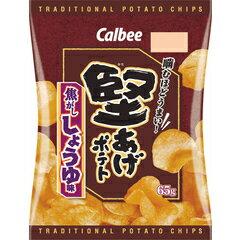 ■■■ カルビー 堅あげポテト焦がししょうゆ味 65g × 12 個セット(食品・お菓子・ポテ…