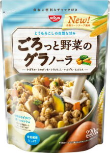 とうもろこしの自然な甘みがおいしい「冷製コーンスープ風味」のグラノーラ 4901620176518日清...
