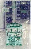 【日本サニパック】【大津市指定袋】G−4J大津市指定袋45L10枚 透明【10枚】 ( 4902393750141 )