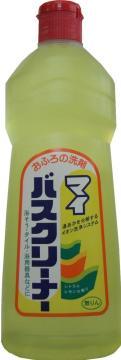 【20個で送料込】ロケット石けん マイバスクリーナー 500ML シトラスレモンの香り ( お風呂用洗剤 ) ×20点セット ( 4903367001771 )