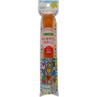 【送料無料・まとめ買い×600】ライフレンジ みがきやすいハブラシ LT−13 磨きやすい 歯ブラシ こども ケース付き ×600点セット(4560292169282)