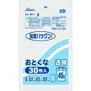 セイケツ ゴミ袋 おとくなペール用 45L 透明 MT-1(30枚入)