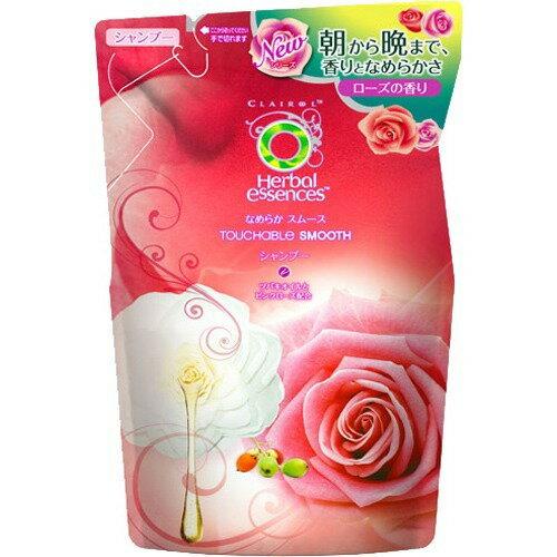 P&Gハーバルエッセンスなめらかスムースシャンプーつめかえ340ml甘く優しいローズの香り(4902430331067)