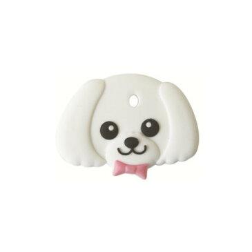 【直送・代引不可・同梱不可】 ワールド商事 フィールドポイント ペットキーカバー 犬 マルチーズ(1コ入)