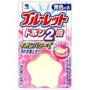 姫路流通センターで買える「小林製薬 ブルーレットドボン2倍 せっけんの香り 無色の水 (トイレ用消臭剤( 4987072071144 」の画像です。価格は84円になります。