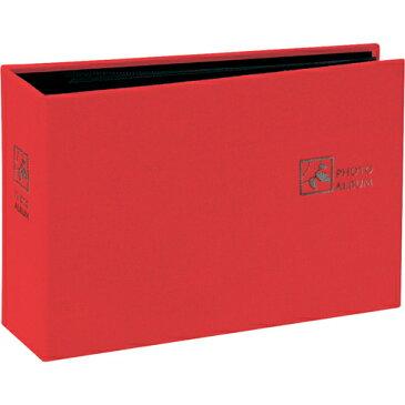 ナカバヤシ ポケットアルバム セラピーカラー 溶着式/L判1段 エナジーレッド TCPK-L-80-ER