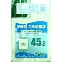 日本技研 容量表記 ごみ袋 半透明 45L NNY-43(30枚入)