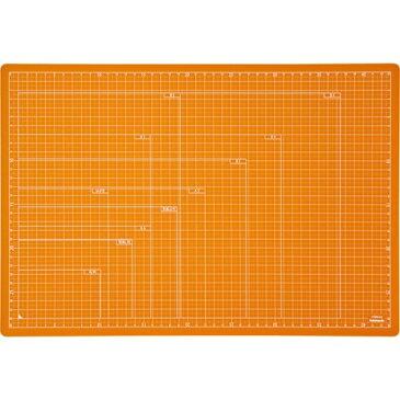 ナカバヤシ 折りたたみカッティングマット A3サイズ オレンジ CTMO-A3OR(1枚入)