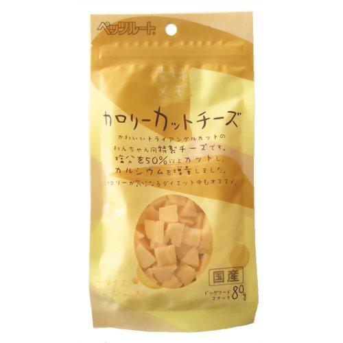 ペッツルート カロリーカットチーズ 80G (ペットフード 犬用)( 4984937682149 )