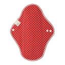 【24個で送料込】Be*cloth 布ナプキン 昼用 水玉 レッド ×24点セット ( 4571243117030 )