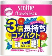 まとめ買い 日本製紙 クレシア スコッティ フラワー 4901750227302