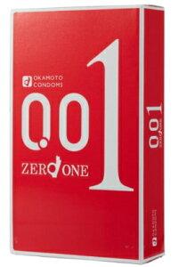 【モニター特価】オカモト ゼロワン 3個入りパック 薄さ0.01ミリ驚異のスキン ( コンドーム 避妊具 001 ) ( 4547691749192 ) ※初めて購入のお客様限定価格