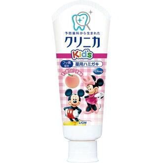 包含醫藥產品 (兒童牙膏) 的獅子臨床兒童牙膏吸重複 60 g 木糖醇 (4903301099239)