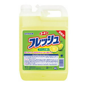 洗剤・柔軟剤・クリーナー, キッチン用洗剤 GotoUP V 4L( 4902050101293 )