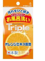 キクロン トリプルパワー オレンジスポンジ お風呂洗い