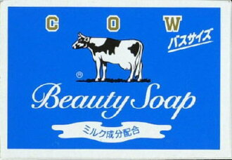 牛奶香皂 Co 公司 cardbrand 牛奶香皂藍色框匯流排 135 g (4901525125017)