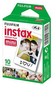 【無くなり次第終了】富士フィルムインスタントカラーフイルムチェキフイルムINSTAXMINI10枚入り×1パック(チェキ専用フィルム)(4547410173796)