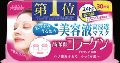 コーセー クリアターン エッセンスマスク コラーゲン 30回分×24点セット まとめ買い...