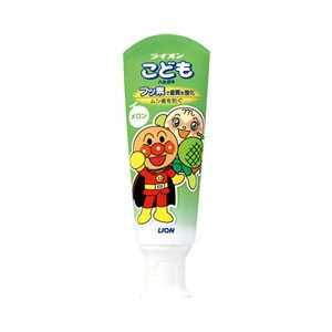 獅子兒童牙膏甜瓜 40 g 准藥物 (兒童牙膏) (0000049795318)