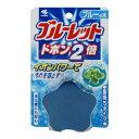 姫路流通センターで買える「小林製薬 ブルーレットドボン2倍 ブルーミントの香り ブルーの水 ( 4987072067468 」の画像です。価格は84円になります。
