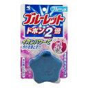 姫路流通センターで買える「小林製薬 ブルーレットドボン2倍 ラベンダーの香り ブルーの水 ( 4987072071083 」の画像です。価格は84円になります。