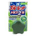 姫路流通センターで買える「小林製薬 ブルーレットドボン2倍 ハーブの香り グリーンの水 (トイレ用洗浄剤( 4987072071137 」の画像です。価格は84円になります。