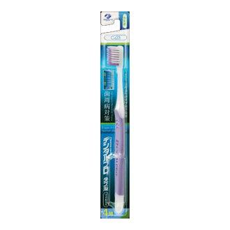 牙科 Pro 牙刷雙牙刷溫和的脫髮 4 緊湊 katame (口腔護理牙刷) (4973227212210)