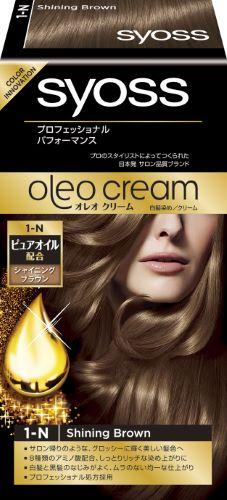 【送料無料】サイオス オレオクリーム ヘアカラー 1N シャイニングブラウン×36個セット ( 4987234361403 ) サロン帰りのような美しい髪色へ。