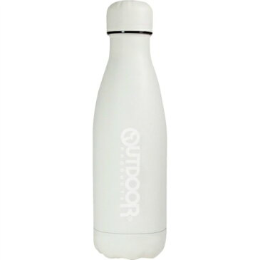 【送料無料】【直送・代引不可・同梱不可】アウトドアプロダクツ ステンレスボトル(400ml) オフホワイト 314-472