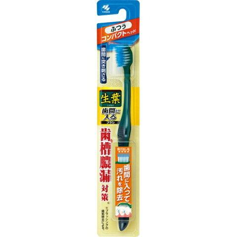 【令和・ステイホームSALE】小林製薬 生葉歯間に入るブラシ コンパクト ふつう ( 内容量:1本 ) ( 4987072043257 )