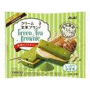 【送料無料・まとめ買い×3個セット】アサヒ クリーム玄米ブラン 抹茶のブラウニー 1枚×2袋