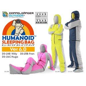 DOPPELGANGER(ドッペルギャンガー)人型寝袋ヒューマノイド スリーピングバック DS-25B Fran ...