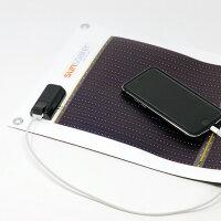 携帯充電用太陽電池シートSunSoaker