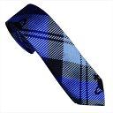 Vivienne Westwood ヴィヴィアン・ウェストウッド ネクタイ スリム7cm チェック柄 10598-K201-BLUE slim