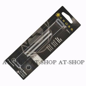 CROSS クロス 替え芯 2本セット M(中字) ボールペン芯 8518-4 ブラック M テックスリー・テックフォー用