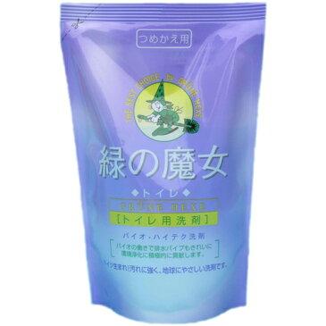 緑の魔女 トイレ用 詰替え 360ml ×24個セット