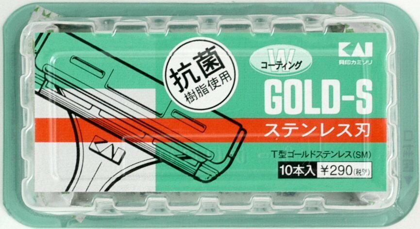 【 送料無料 】 【貝印】T型ゴールドステン10本 TGS-10B×200個セット (4901331007095)